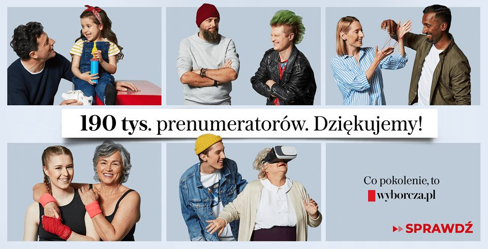'Gazeta Wyborcza' ma już 190 tys. cyfrowych prenumeratorów