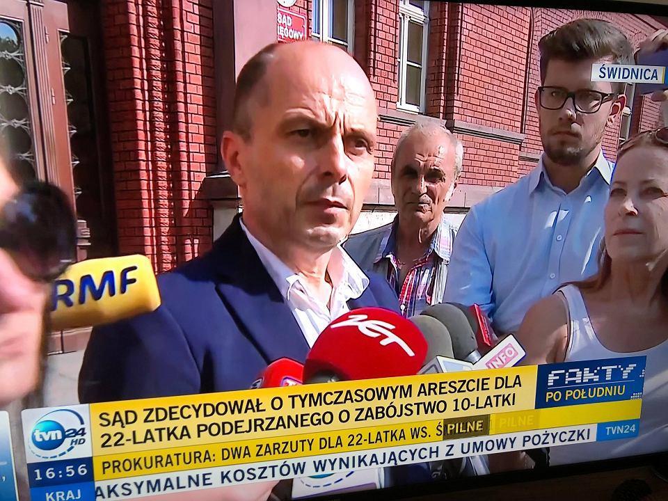 Mariusz Pindera, szef Wydziału Śledczego Prokuratury Okręgowej w Świdnicy.