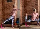 Czym jest yoga wheel? Kasia Bigos pokazuje, w jaki sposób wykorzystać sprzęt do ćwiczeń