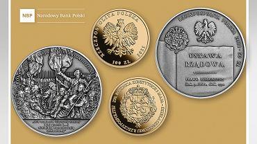 Narodowy Bank Polski wprowadzi do obiegu monety kolekcjonerskie. Złote 100 zł i srebrne 50 zł