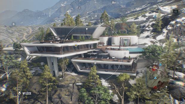 Willa z gry 'Ghost Recon: Breakpoint' inspirowana domem nad wodospadem