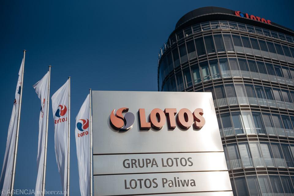 Siedziba grupy Lotos w Gdańsku.