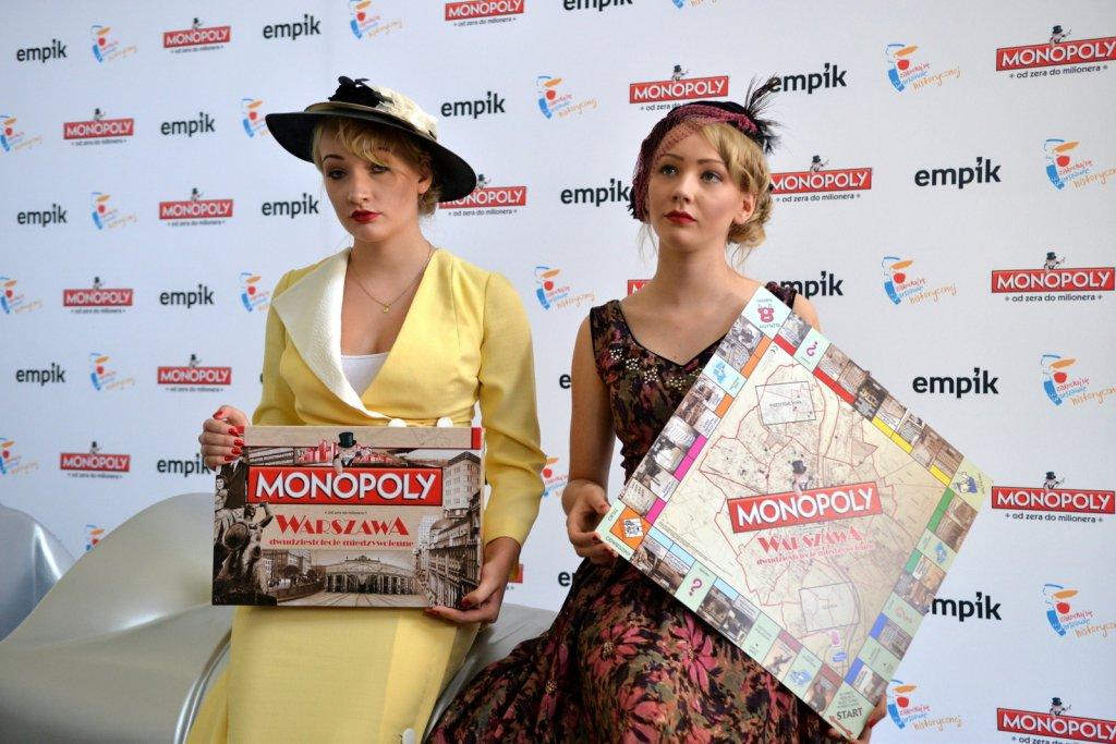 Monopoly Warszawa Dwudziestolecie międzywojenne