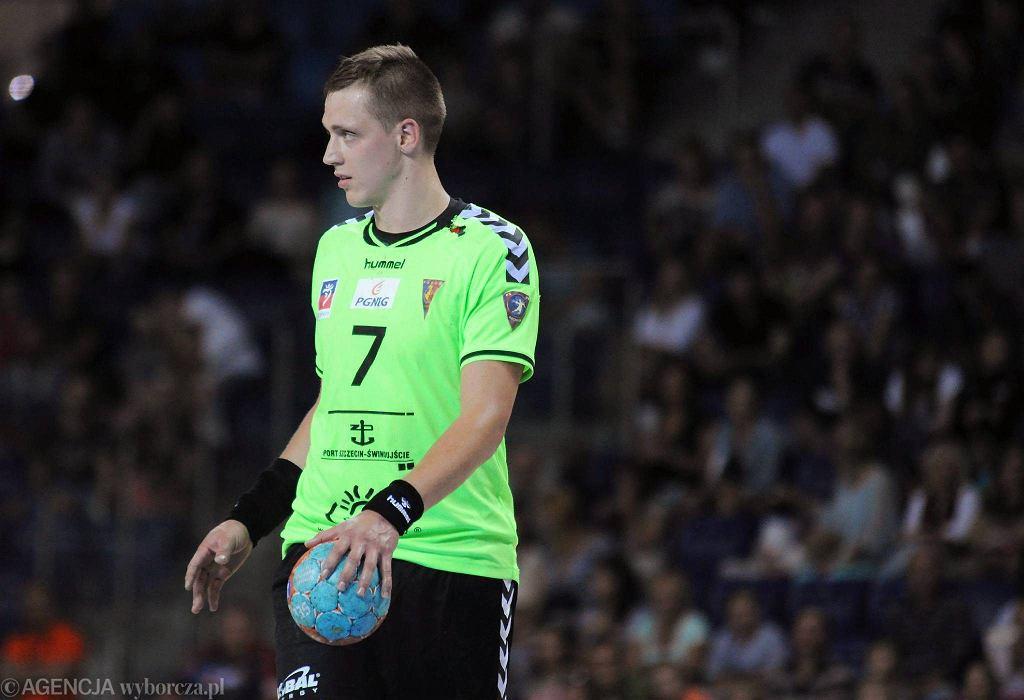 Patryk Walczak z Pogoni Handball Szczecin