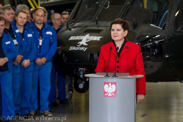 Antoni Macierewicz: Black Hawk z Mielca dla wojsk specjalnych