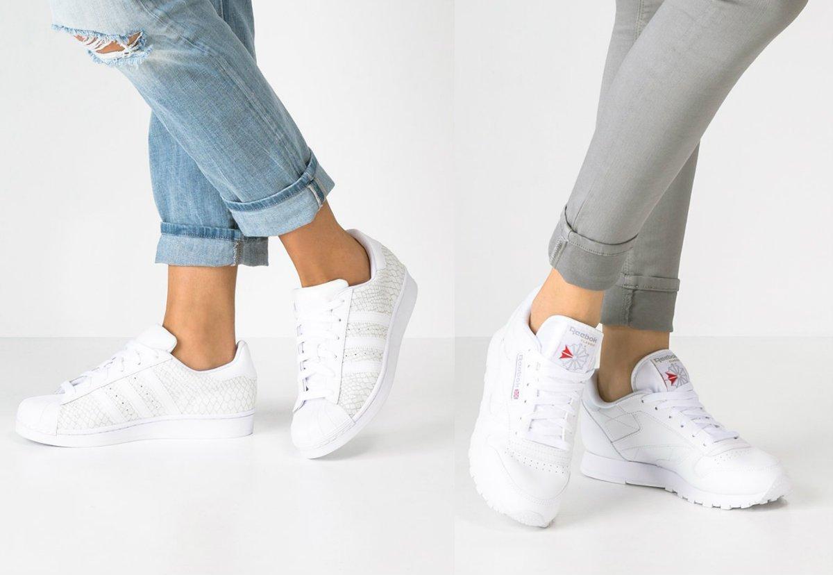 białe buty sportowe damskie eleganckie