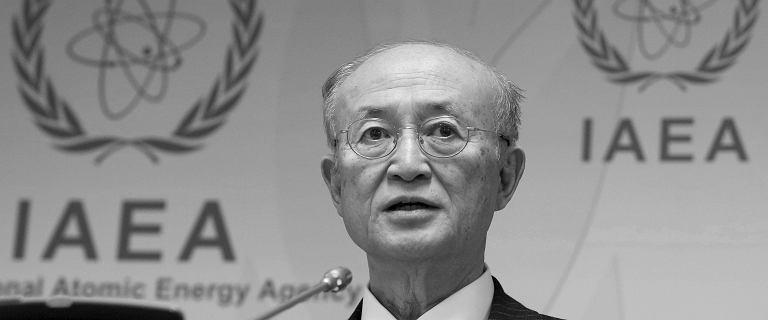 Nie żyje Yukiya Amano, dyrektor Międzynarodowej Agencji Energii Atomowej