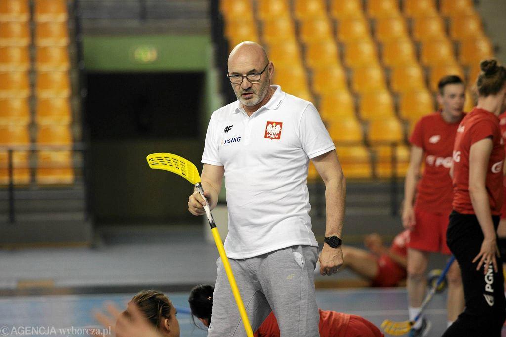 Trening reprezentacji Polski piłkarek ręcznych w Kielcach