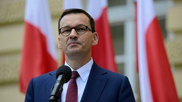 Morawiecki: Przenoszenie działalności gospodarczej do Czech jest nieopłacalne. Na zdjęciu Mateusz Morawiecki