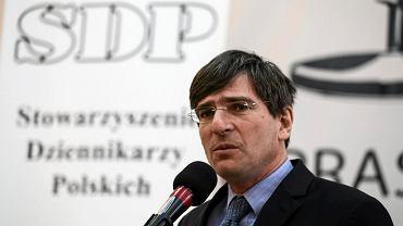 Prezes SDP Krzysztof Skowroński