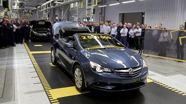 Dwumilionowy samochód z zakładu Opla w Gliwicach