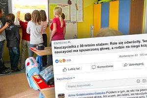 """""""Jeśli jest kanalią, to niech się nie dziwi, że rodzice robią awantury"""". Dyskusja o nauczycielach podzieliła ludzi"""