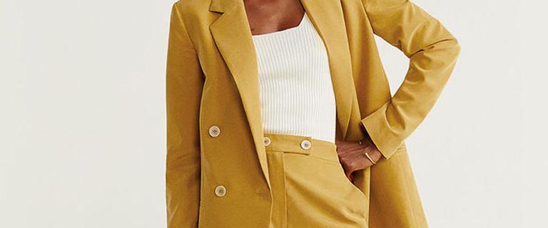 Żakiet to idealna alternatywa dla kurtki! Sprawdzi się w okresie przejściowym!