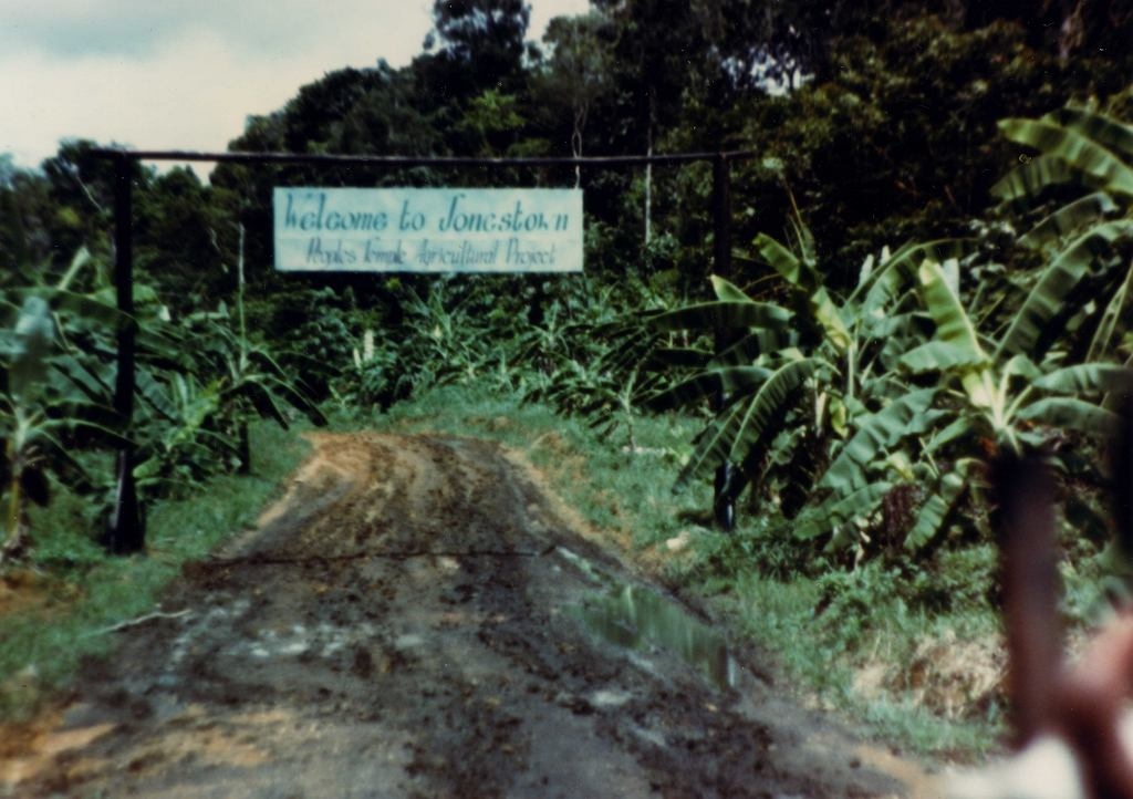 Jonestown w Gujanie.