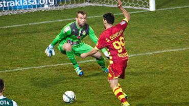 Jagiellonia pokonała Śląsk 3:1. Dani Quintana