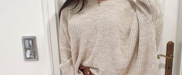 Swetry oversize to doskonały wybór na jesień! Ukryją niedoskonałości sylwetki