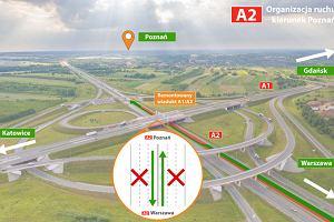 Konserwacja wiaduktu na trasie A1. Będą utrudnienia do końca roku