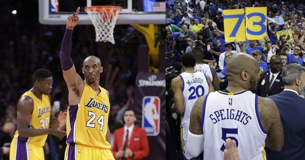 Kobe Bryant i rekord Golden State Warriors