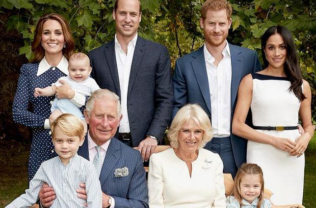 Meghan Markle na zdjęciu rodziny królewskiej