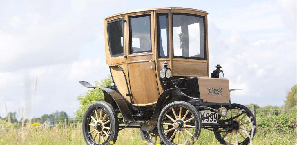 Queen Victoria Brougham - elektryczny samochód z roku 1905