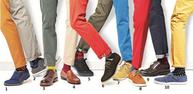 Męskie półbuty: jak je łączyć ze spodniami i skarpetkami?