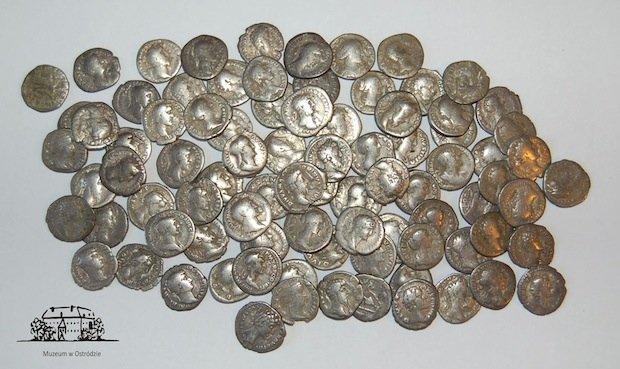 86 rzymskich denarów