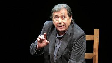 18.05.2015 Warszawa , Teatr Narodowy . Janusz Gajos w spektaklu ' Msza za miasto Arras