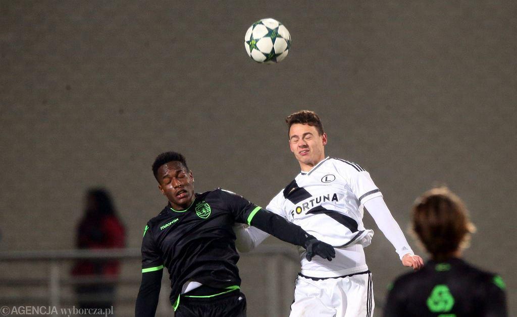 Legia - Sporting w młodzieżowej LM