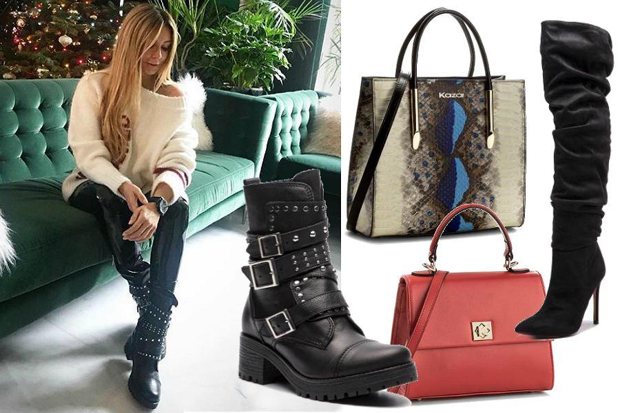 d4aaef9affc1b Kazar na zimę  wybieramy najładniejsze buty i torebki. Botki Rozenek to  gorący hit!