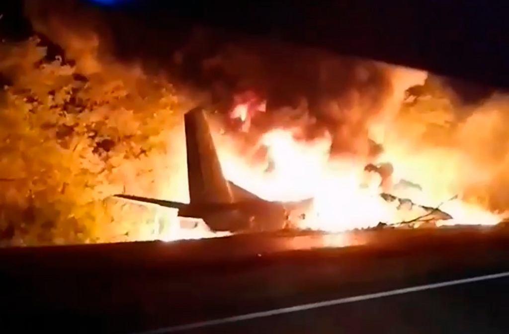 Katastrofa samolotu An-26 na Ukrainie