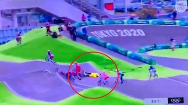 Saya Sakakibara zaliczyła upadek na igrzyskach olimpijskich w Tokio.