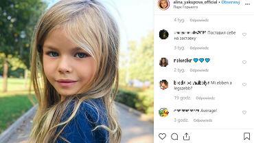 Alina Yakupova ma sześć lat i pochodzi z Rosji. Właśnie okrzyknięto ją najpiękniejszym dzieckiem na świecie