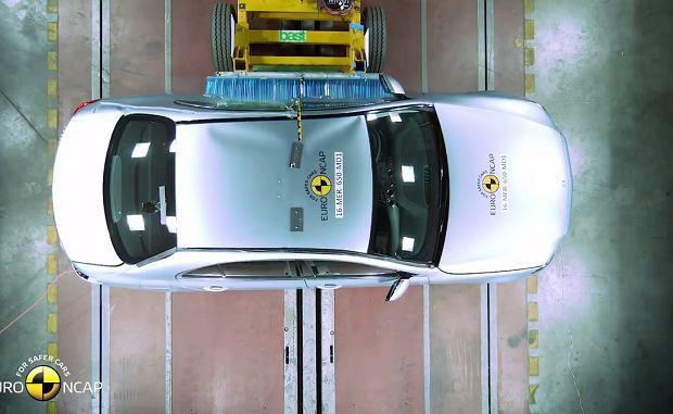Mercedes klasy E Euro NCAP