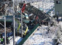 Katastrofa kolejowa w Ankarze. Pociąg uderzył w lokomotywę i wiadukt. Rośnie liczba ofiar