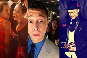 Justin Timberlake, Selena Gomez, Miley Cyrus, Richard Simmons, Joseph Gordon-Levitt.