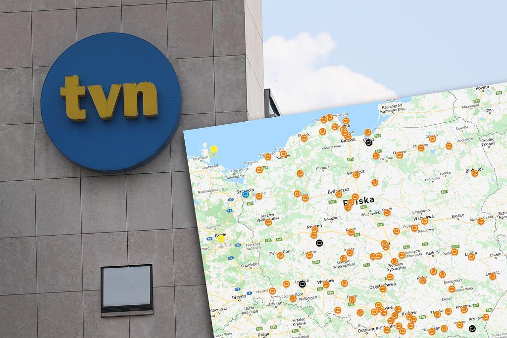 We wtorek protesty przeciwko 'lex TVN' w całej Polsce. Gdzie się odbędą? [MAPA]