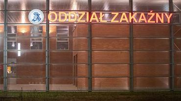 Poznański szpital miejski w Poznaniu w czasie epidemii koronawirusa