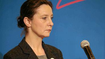 Joanna Piotrowska z fundacji Feminoteka