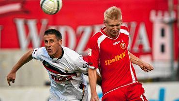 Sierpień 2014. Widzew Łódź - GKS Tychy 1:1. Adam Duda