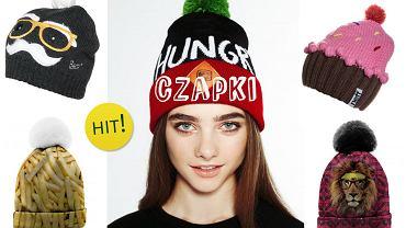 Śmieszne czapki- niecodzienny dodatek