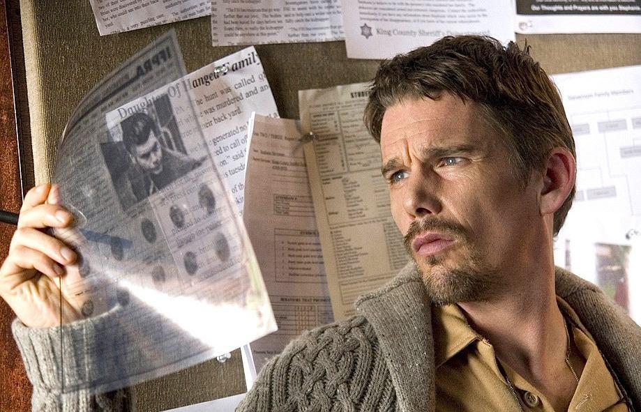 'Sinister' z 2012 r. - według najnowszych badań 'najstraszniejszy horror w historii kina'. Na zdjęciu grający główną rolę Ethan Hawke.