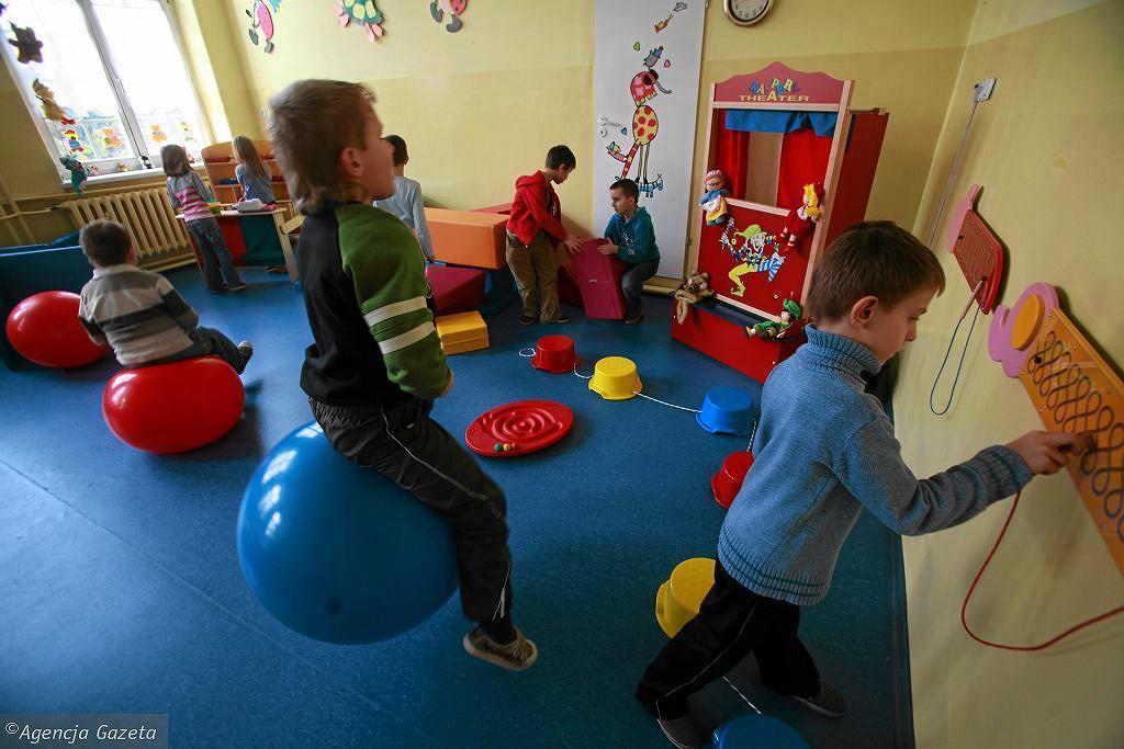Przedszkolna sala zabaw (zdjęcie ilustracyjne)