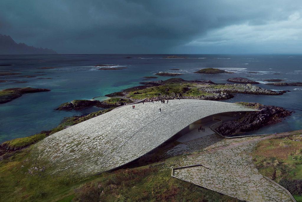 Budynek obserwatorium wielorybów 'The Wale'
