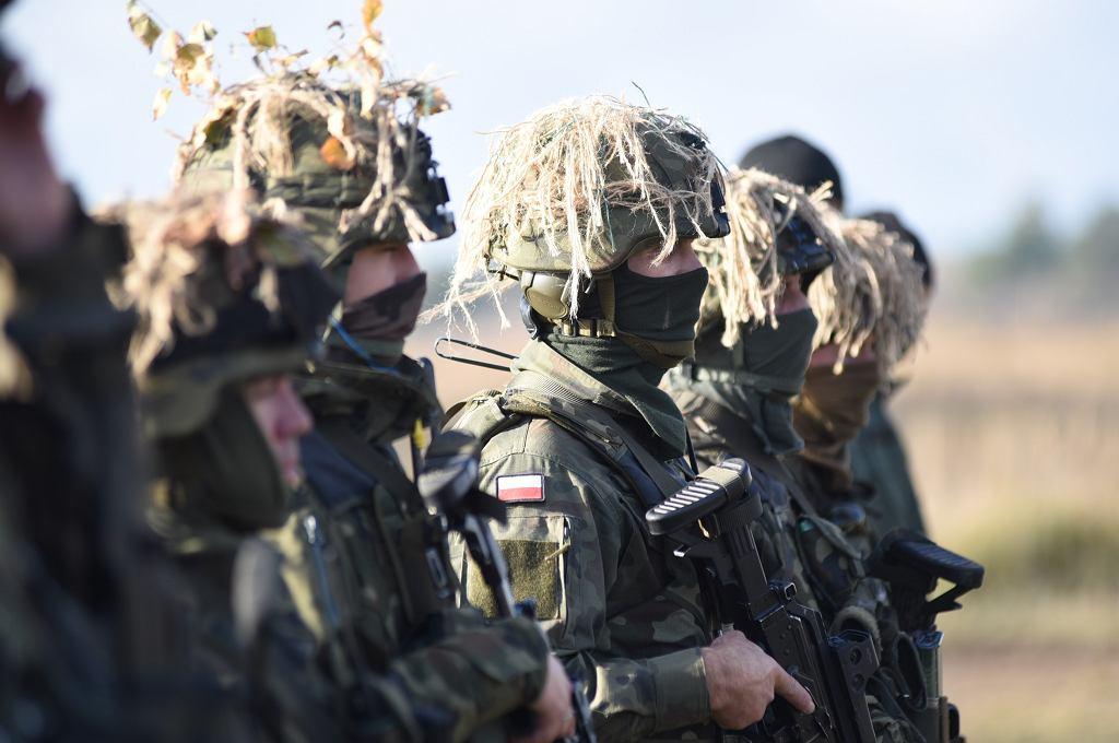 Żołnierze 21. Brygady Strzelców Podhalańskich na poligonie