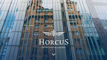 Strona główna serwisu spółki Horcus Investment Group.