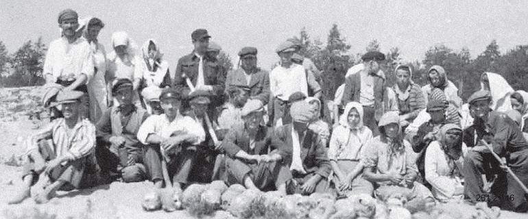 """""""Płuczki"""", czyli polska wieś kopie w żydowskich dołach śmierci"""