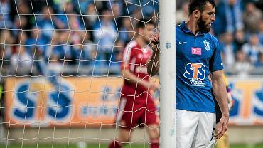 Lech Poznań - Wisła Kraków 0:0. Zaur Sadajew