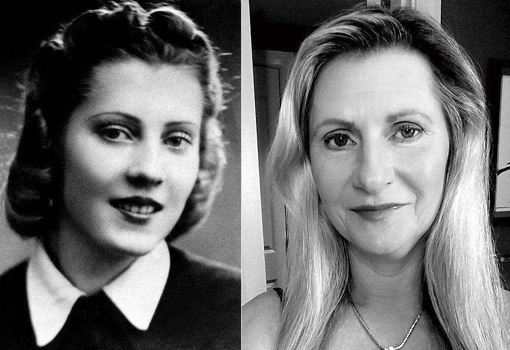 Od lewej: 17-letnia Irena Gut, uczennica szkoły pielęgniarskiej, Radom, 1939 r. Jeannie Smith dba o to, by historia jej mamy nie została zapomniana