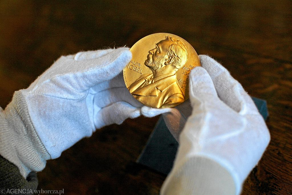 Medal Nagrody Nobla Wisławy Szymborskiej