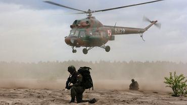Śmigłowiec Mi-2 polskiego wojska